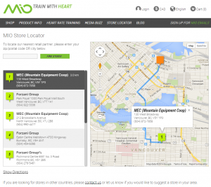 MIO Global Store Locator